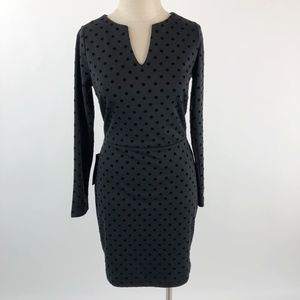 The Limited Long Sleeve Ponte Knit Sheath Dress